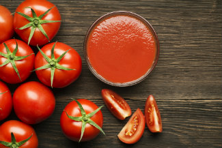 Sugar balances the acidity in tomato sauces